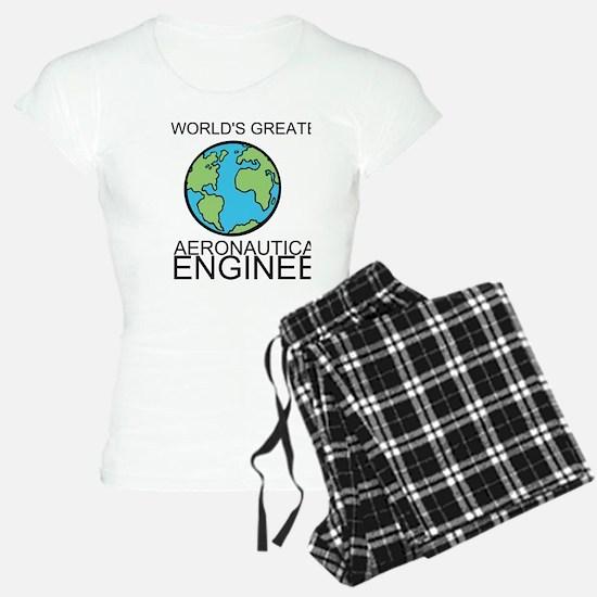 Worlds Greatest Aeronautical Engineer Pajamas