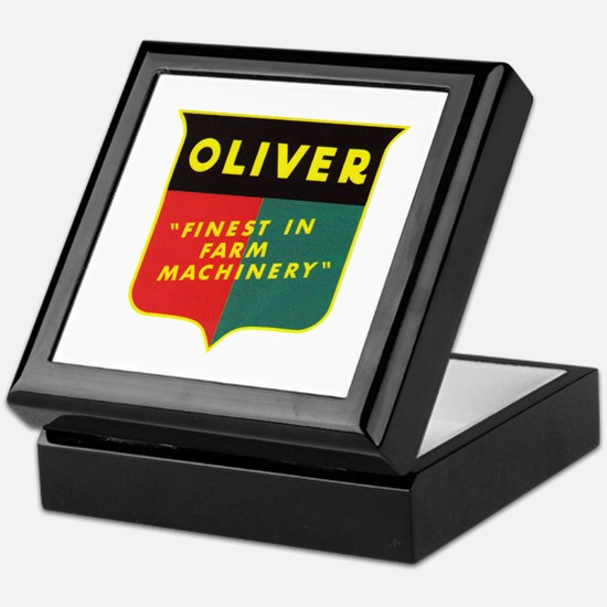 Oliver Tractor Keepsake Box