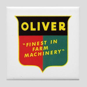 Oliver Tractor Tile Coaster