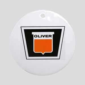 oliver newer Ornament (Round)