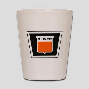 oliver newer Shot Glass