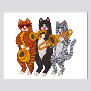 Cat Brass Section Posters