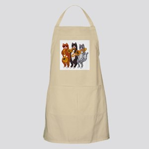 Cat Brass Section Apron