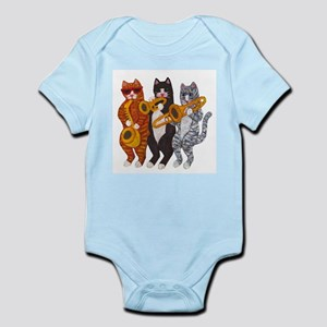 Cat Brass Section Body Suit