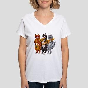 Cat Brass Section T-Shirt