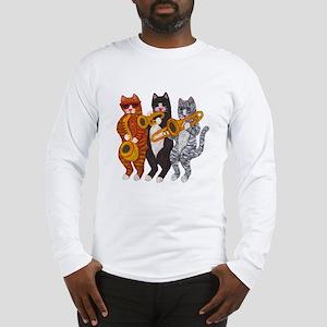Cat Brass Section Long Sleeve T-Shirt