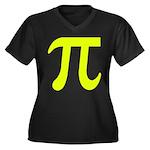 Neon Pi Plus Size T-Shirt