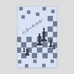 Chess King and Pieces Posters