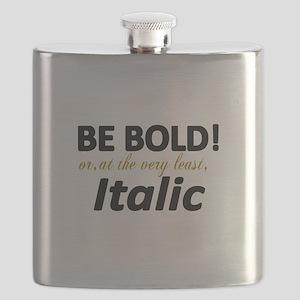 Be Bold or Italic Flask