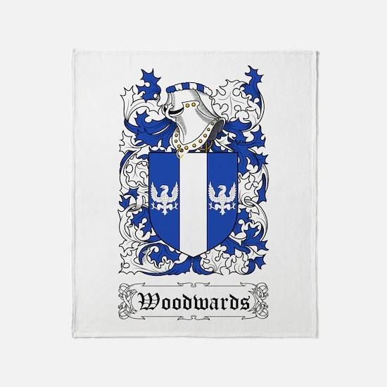 Woodwards Throw Blanket
