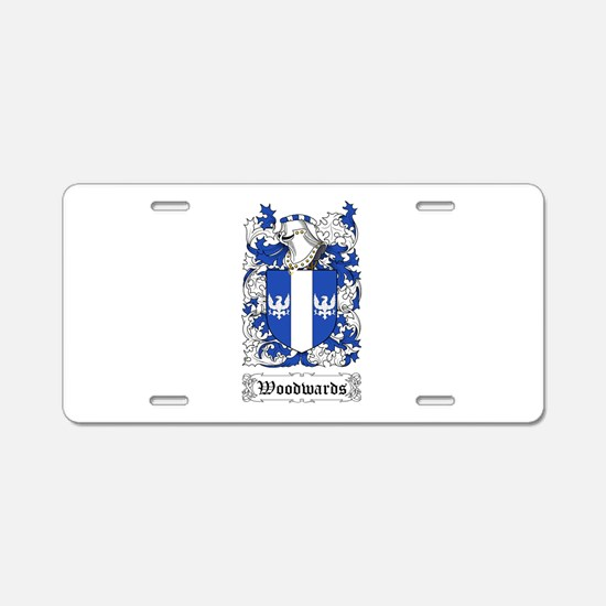 Woodwards Aluminum License Plate