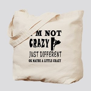 I'm not Crazy just different Rock Climbing Tote Ba