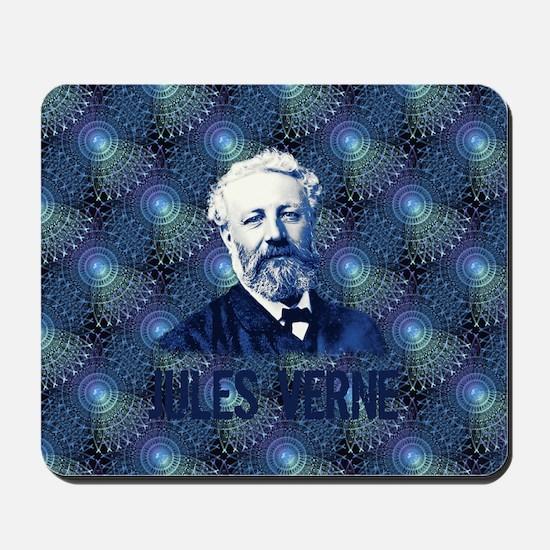 Jules Verne Steampunk Mousepad