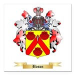 Bason Square Car Magnet 3