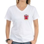 Baskin Women's V-Neck T-Shirt