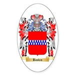 Baskin Sticker (Oval)