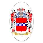 Baskin Sticker (Oval 50 pk)