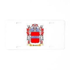 Baskin Aluminum License Plate