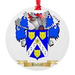 Baskett Round Ornament