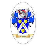 Baskett Sticker (Oval 50 pk)