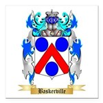 Baskerville Square Car Magnet 3