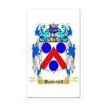 Baskervill Rectangle Car Magnet