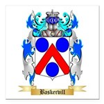 Baskervill Square Car Magnet 3