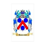 Baskervill Sticker (Rectangle 10 pk)