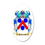 Baskervill 20x12 Oval Wall Decal