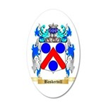Baskervill 35x21 Oval Wall Decal