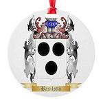 Basilotta Round Ornament