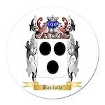 Basilotta Round Car Magnet