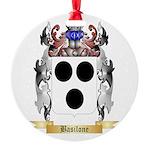 Basilone Round Ornament