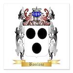 Basilone Square Car Magnet 3