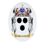 Basilone Ornament (Oval)