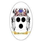 Basillon Sticker (Oval 10 pk)