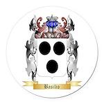 Basilio Round Car Magnet