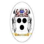 Basilevich Sticker (Oval 10 pk)