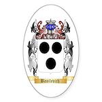 Basilevich Sticker (Oval 50 pk)