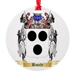 Basely Round Ornament