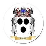 Baselli Round Car Magnet