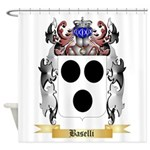 Baselli Shower Curtain