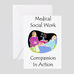 Medical Social Work Greeting Cards