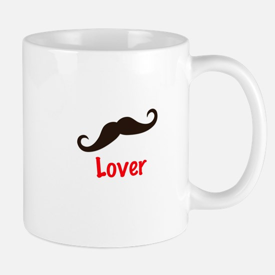 Mustache Lover T Shirt Mug