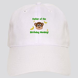 Father of the Birthday Monkey! Baseball Cap