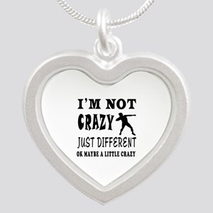 I'm not Crazy just different Shot put Silver Heart