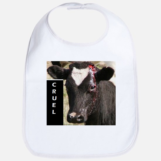 Dehorning is Cruel Bib