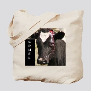 Dehorning is Cruel Tote Bag