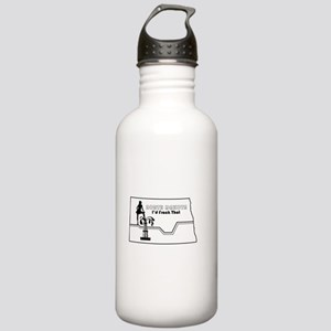 Frack Girl Water Bottle