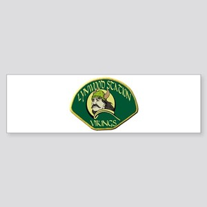 Lynwood Station Vikings Bumper Sticker